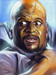 Terry Crews, Black History Month, Man Humor, A Good Man, Cool Pictures, Cool Art, Deviantart, Guys, Portrait
