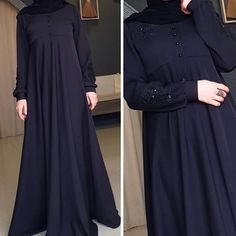 Image may contain: people standing Islamic Fashion, Muslim Fashion, Niqab Fashion, Fashion Dresses, 90s Fashion, Boho Fashion, Asian Wedding Dress Pakistani, Wedding Abaya, Hijab Style Dress
