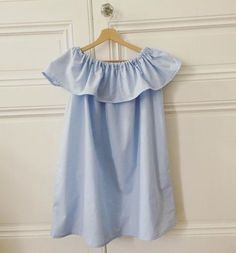 Robe off The shoulder tuto français :)