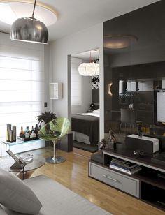 Apartamento pequeno baixo augusta (Foto: Alain Brugier / divulgação)