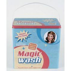 MAGIC WASH PLÅTBURK TVÄTTMEDEL