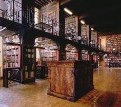 Hendrik Conscience Memorial Library, Antwerp, Belgium.