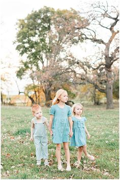 Three children dressed in vintage teal stand holding hands in a grassy field looking onward | CB Studio Children Photography, Family Photography, Children Holding Hands, Oh My Heart, Family Photos, Couple Photos, Camera Shots, My Favorite Image, Image Types