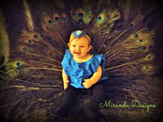 It's Hallowe'en, Baby! {Peacock costume}