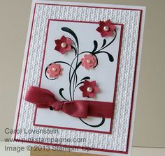 Stampin' Up! - Carol Lovenstein Everything Eleanor and Boho Blossoms From Monthly Card Class