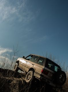 P38 Range Rover offroad