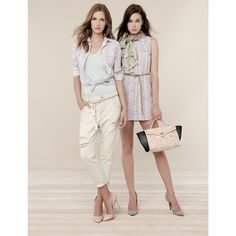 Fracomina Denim antifit con effetto used Shop Online Spring Summer 2015, Capri Pants, Trousers, Denim, Blouse, Jeans, Skirts, T Shirt, Shopping