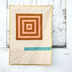 Quilt pattern from Shawna at Fancy Tiger