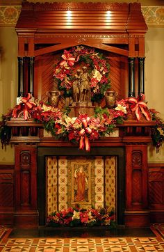 Victorian Holiday Decor in Glenview at the Hudson River Museum by Hudson River Museum, via Flickr