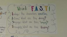 FAST Character traits - cute anchor chart