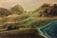 Mountain villages (acrylic on canvas - 40x60 - 291215)