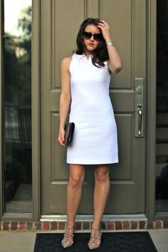 Little White Dress - Dallas Wardrobe // Fashion & Lifestyle Blog // DallasDallas Wardrobe // Fashion & Lifestyle Blog // Dallas