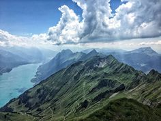 Hike to the Brienzer Rothorn. This view is just awesome!