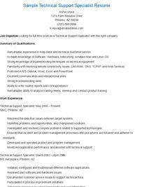 Sample Water Resource Specialist Resume  Resame