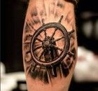 Tatuagem de Leme 1