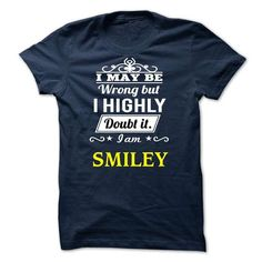 SMILEY - I may be Team - #creative gift #shirt outfit. THE BEST => https://www.sunfrog.com/Valentines/SMILEY--I-may-be-Team.html?id=60505