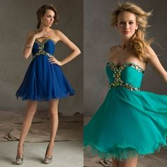 2014 New Arrival Sweetheart Beading Homecoming Dresses With Pleats Bodice Elegant Draped Edge Trim Women's Clothing Girls Dress  $97.99