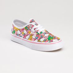 Hello Kitty Vans, saw these at Journeys & i WILL get them, even if i don't wear them