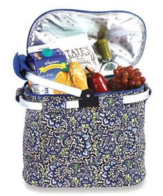 Loving this English Paisley Shelby Collapsible Cooler Tote on #zulily! #zulilyfinds