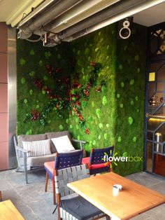 """""""Nature holds the key to our aesthetic, intellectual, cognitive and even spiritual satisfaction""""  E. O. Wilson.    FlowerBox Wall Gardens creates preserved, maintenance free, soil free, water free, light free beautiful indoor vertical gardens that lasts many years! #verticalgarden #garden #home #decoration #art #green #idea"""