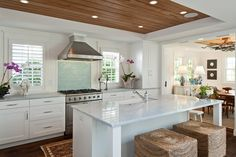 white kitchen | MHK Architecture and Planning