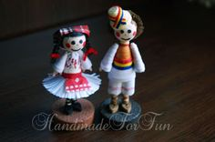 FunQuilling: Miniaturi in costume traditionale