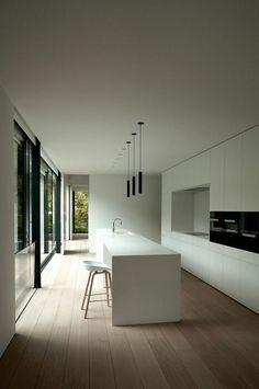 Modern Kitchen Design 108 Amazing White Kitchen Decor and Design Ideas White Kitchen Island, Black Kitchen Cabinets, White Kitchen Decor, Kitchen Interior, Kitchen Ideas, Kitchen Designs, Rustic Kitchen, Kitchen Tips, Kitchen Backsplash