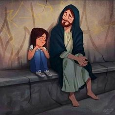 Pictures Of Christ, Jesus Christ Images, Jesus Bible, Jesus Art, God Jesus, God Loves Me, Jesus Loves, Jesus Cartoon, Jesus Drawings