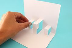 Tarjetas Pop-Up o 3D {pasos básicos} | #Artividades