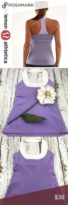 💕SALE💕Lululemon Lavender Scoop Neck Top Fabulous 💕Lululemon Lavender Scoop Neck Top lululemon athletica Tops