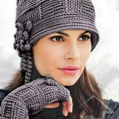 """Sample Russian style crochet hats. These are not made by me. They are just samples and in no way will I copy someone's exact creation. However, if the """"shell"""" / style is something that you're interested in, O can certainly make similar items. I will need the circumstance of your head measured above eyebrows. handmade Accessories Hats"""