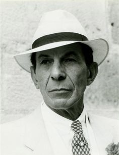 Fancy that! a vulcan in a hat! Leonard Nimoy working a fabulous hat. Renowned for playing Spock in the TV series Star Trek
