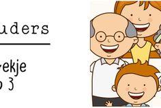 Thema Grootouders: werkboekje groep 3