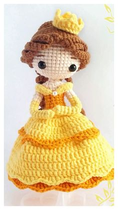 Doll Amigurumi Free Pattern, Crochet Dolls Free Patterns, Crochet Doll Pattern, Amigurumi Doll, Crochet Crafts, Yarn Crafts, Crochet Toys, Crochet Projects, Free Crochet