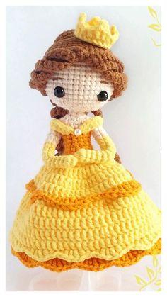 Crochet Cat Pattern, Crochet Disney, Crochet Dolls Free Patterns, Crochet Amigurumi Free Patterns, Doll Amigurumi Free Pattern, Amigurumi Doll, Crochet Crafts, Crochet Projects, Crochet Ideas