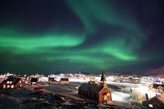 Aurora nuuk, Greenland