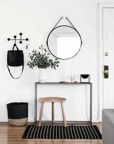 kreisförmiger Spiegel