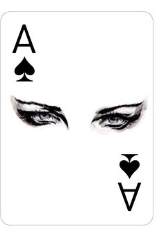 Ace Of Spades, Fashion Playing Cards by Connie Lim Queen Of Spades, Ace Of Spades, Arte Bar, Playing Cards Art, Pokerface, Gaming Tattoo, Deck Of Cards, Card Deck, Fashion Sketches