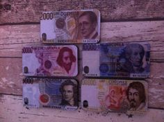 cover rigida per iphone 4/4s con raffig. la vecchia moneta ..la lira..