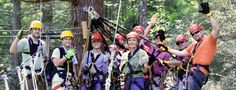 Tree Top Zip Line Tours New River Gorge, WVa.This I want to do some day. Wouldn't this be a fun thing to hook up across our property? The grandsons would love this when they came to visit in a few years. Woohoo! A little dream building going on.