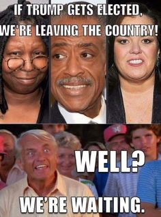 Leave America AlreadyGO get the hell out just go.