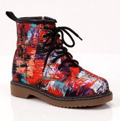 Splash Graffiti Boot