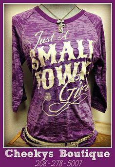 Small Town Girl Shirt #cheekys #farm #country