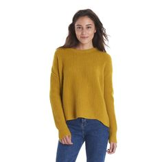 Jofemuho Men Slim Crew Neck Solid Color Casual Knit Pullover Sweaters Jumper