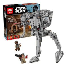 (32.00$)  Buy here - http://aircw.worlditems.win/all/product.php?id=32798917508 - Factory sales Lepin 05066 Star War Series The Rogue One Imperial AT-ST Walker Set Building Blocks Bricks Educational Toys 75153