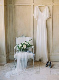 Elegant Bridal Portraits with Old World Style