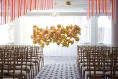This Week on Pinterest - Unique Wedding Ceremony Backdrops - eleGALA.com