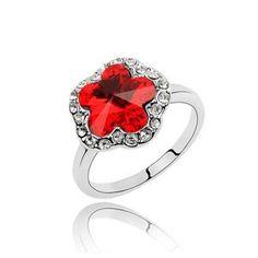 Swarovski prsten Heart Ring, Swarovski, Engagement Rings, Jewelry, Fashion, Enagement Rings, Moda, Wedding Rings, Jewlery
