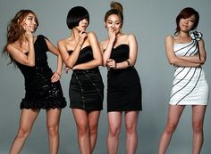 Brown Eyed Girls will become the first girl group to host an episode of tvN's 'Saturday Night Live Korea' ('SNL Korea'). Kpop Girl Groups, Kpop Girls, Yellow Black, Black And Brown, Group Photography, Ga In, Brown Eyed Girls, First Girl, Brown Eyes