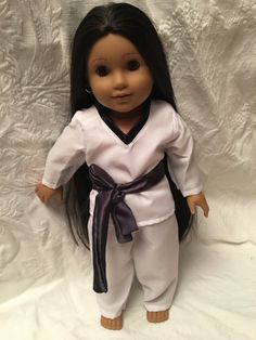Fits American  18 inch Doll Girl Clothes by RollingRockDolls